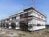 Řadový cihlový rodinný dům, krajní J 4+kk o ploše 135,5m2 + garáž na pozemku 347,3m2.
